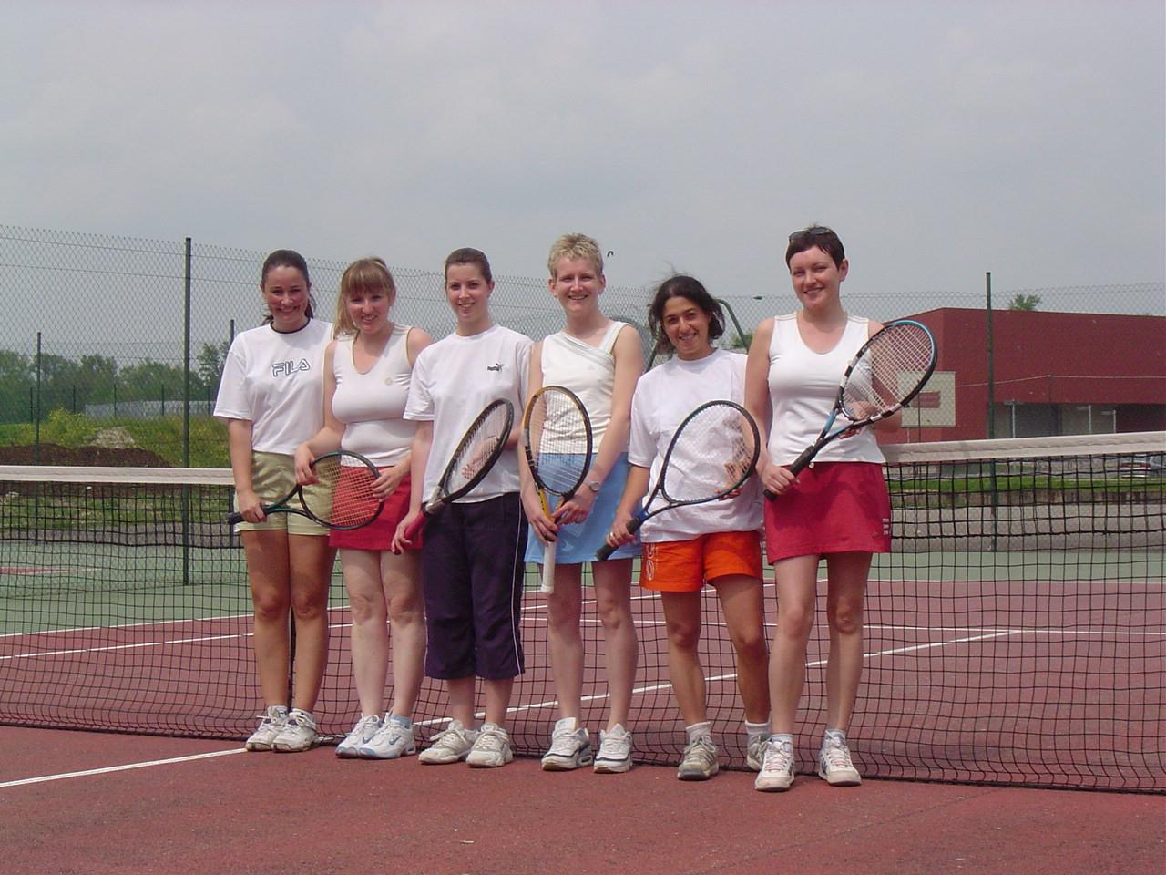 Equipe féminine 6.5.06