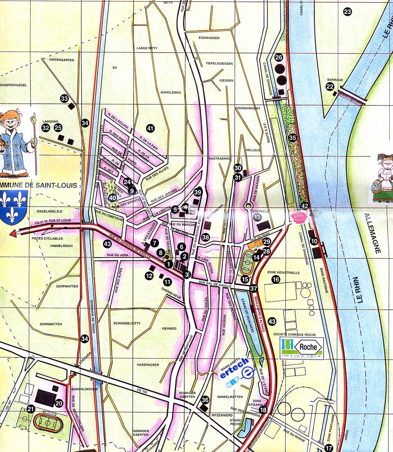 plan village neuf